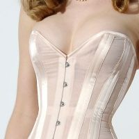 Cabaret Sheer Sophia black or peach Corset